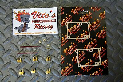 Vito's Yamaha Banshee FULL JET KIT - 12 main jets & 2 pilot & 2 needles MIKUNI