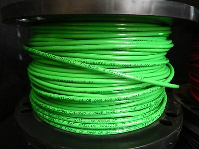 #8 Copper THHN WIRE STRANDED GREEN THWN 600V  AWG 52 FEET  Roll End SAVE$$$
