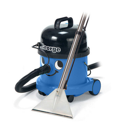 Numatic George Carpet Extractions Wet and Dry Commercial Vacuum Cleaner GVE370