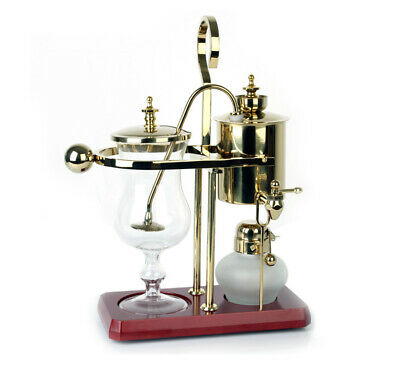 Belgium Luxury Royal Family Siphon/Syphon Balance Coffee Maker Silver GY-S-2