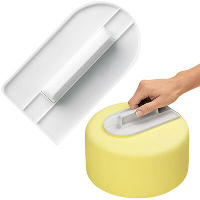 Cake Smoother Polisher Tools Cutter Decorating Fondant Sugarcraft Icing Mold X8/