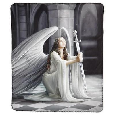 Anne Stokes Collection The Blessing Polar Fleece Throw Rug Blanket Gothic New!