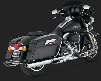 Vance & Hines TWIN SLASH MONSTER SLIP-ON TOURING 95-15