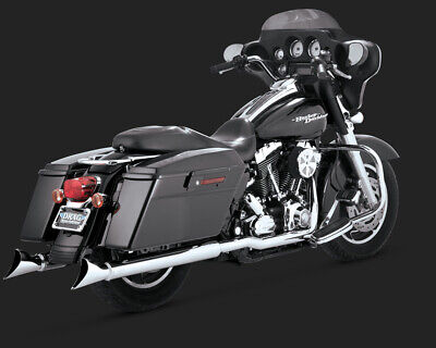 Vance & Hines FISHTAIL 3IN SLIP-ON TOURING 95-15