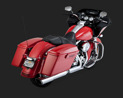Vance & Hines TWIN SLASH 2-1 SLIP-ON TOURING FLHX 2010