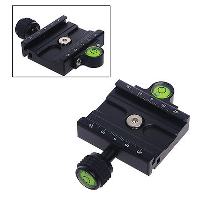 60mm Clamp For QR60 Quick Release Plate Compatible Arca Swiss Tripod Ball Head