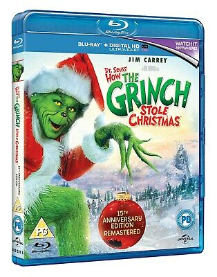 The Grinch (with UltraViolet Copy) [Blu-ray]