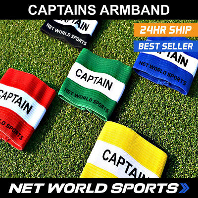 CAPTAINS ARMBANDS - Football / Rugby / Hockey - [UK Seller/24hr Shipping]