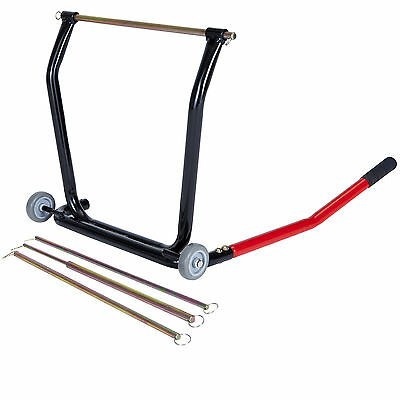 Black Pro Range B5146 Centre Lift Stand Motorcycle Motorbike Maintenance Bike