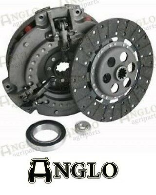 """Massey Ferguson 35 35x 135 Tractor Clutch Assembly Dual 11""""/9"""" 6 Red Springs Kit"""