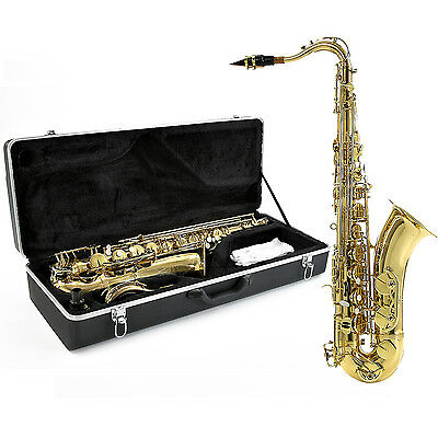 New Tenor Saxophone by Gear4music, Gold
