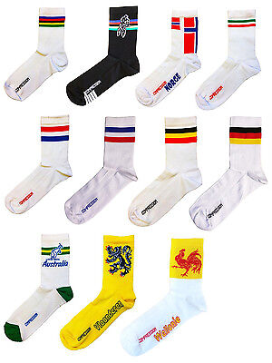 Made In Italy National Team Compression Bike Cycling Socks