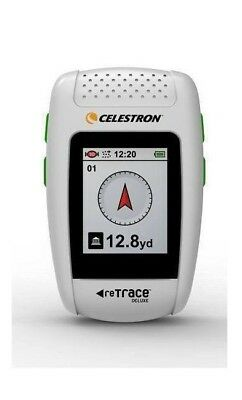 Celestron reTrace Deluxe Digital Compass - White