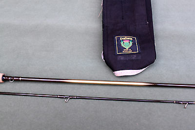 "8'-0""  2 piece Carbon graphite Trout Fly  Fishing rod  in Daiwa bag fine quality"