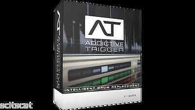 XLN Audio Addictive Trigger Drum Replacement Software Plug-In Mac/PC eDelivery