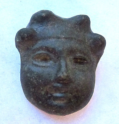 Very Rare Relic Roman Bronze Bust  - Mask of God 1st Century  AD (318-)