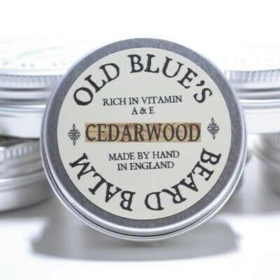Old Blues Beard Balm  Woodsman 100% Natural with Vitamin E 30ml Beard Oil