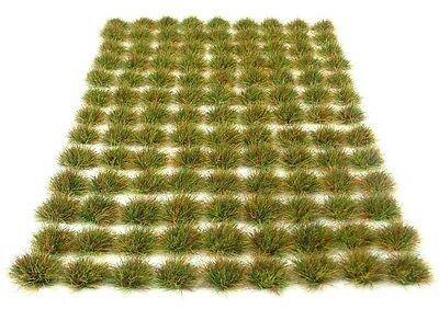 x117 Rough grass tufts 6mm - Self adhesive static model scenery