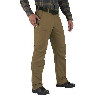 5.11 Apex Mens Army Pants Flex-Tac Hunting Trousers Hiking Cargos Battle Brown