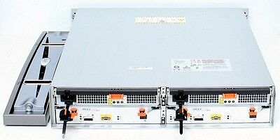 EMC Clariion SAS/SATA Storage Array // AX4-5DAE // 2x Controller, 2x PSU, Rails