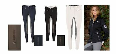Pikeur Lucinda Contrast Ladies McCrown Full Seat Breeches