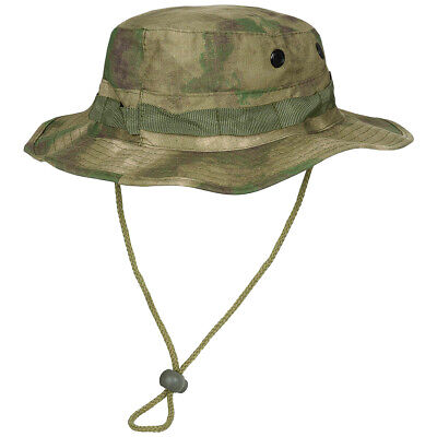 Mfh Us Military Gi Combat Patrol Boonie Bush Sun Cap Army Jungle Hat Hdt  Camo Fg 67c551b0dd8