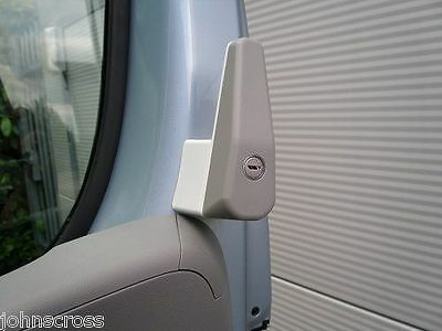 Motorhome Cab Door Security Lock Fiat Ducato Boxer Citroen Campervans After 2007