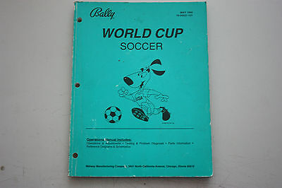World Cup Soccer Bally Williams Flipper Pinball #2