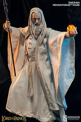 Saruman SIDESHOW Lord of the Rings 1/4 Premium Format Figure Christopher Lee