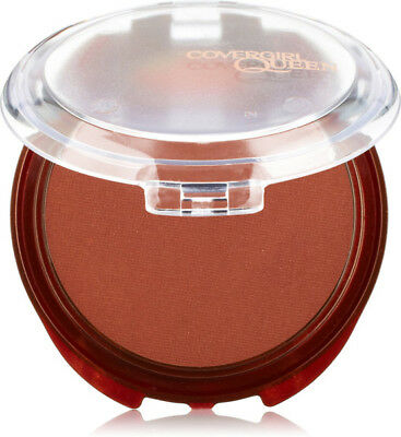 COVERGIRL Queen Natural Hue Minerals Bronzer Dark Skin Ebony Bronze 0.39 oz. 11g
