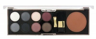 Sunkissed Eye Palette & Bronzer Set - Smoky Eyes 11 Pieces - Women's For Her