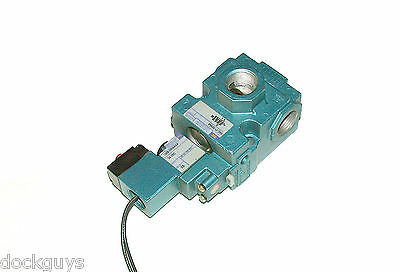 New Mac Pneumatic Solenoid Valve 24 Vdc 2.5 Watts Model 56C-17-595Aa