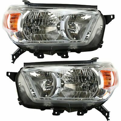 Fit For Ty 4Runner Limited/Sr5 2010 2011 2012 2013 Headlights Right & Left Pair