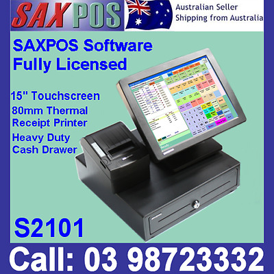 SAXPOS S2101 Touchscreen Basic POS System (Point of Sale) + SAXPOS Software