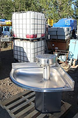 Acorn  Stainless Steel CORNER SINK WITH SOAP DISPENSER