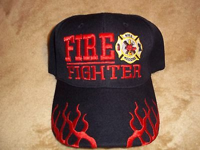 Embroidered FIREFIGHTER CAPS