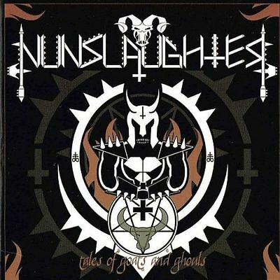 Nunslaughter - Tales of Goats and Ghouls CD + DVD DEATH METAL 2015