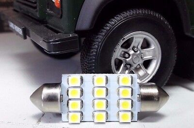 Land Rover Defender TDCI 586438 GLB272 Extra Bright 12 LED Courtesy Light Bulb