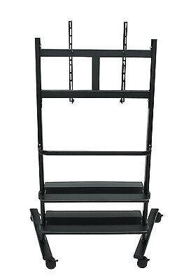 Offex WFP200-B - Universal LCD TV Stand Two Shelves