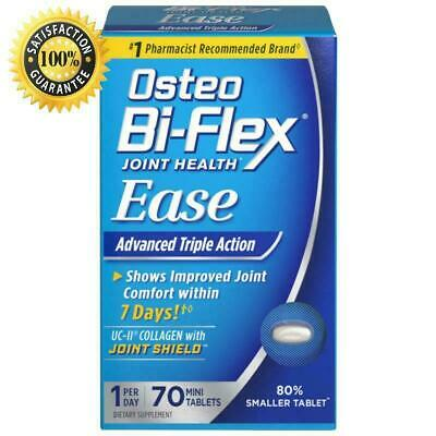 Osteo Bi Flex Joint EASE Advanced Triple Action 70 Mini Tabs 1 A Day Exp 1/2021