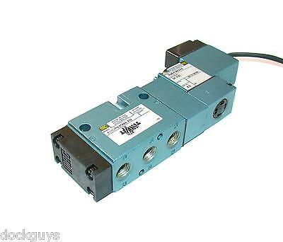 New Mac Pneumatic Solenoid Valve 24 Vdc Model 811C-Pm-506Aa-252