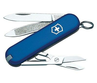 Swiss Army Classic Knife Blue 2-1/4 In.