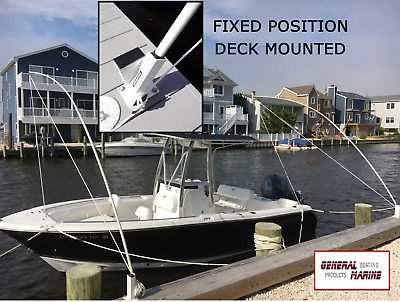 Mooring whips new, unique from General Marine 14ft. poles, boats up to 40ft.