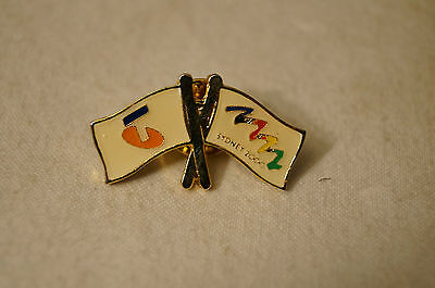 Collectable - Sydney 2000 - Olympic Games - Sponsor - Telstra - Badge-Pin