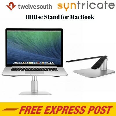 Twelve South HiRise Adjustable Stand for Apple MacBook Air/Pro 11/12/13/15 inch