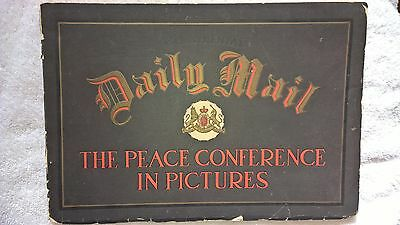 "World War I ""Daily Mail"" Picturebook, ""The Peace Conference in Pictures"""