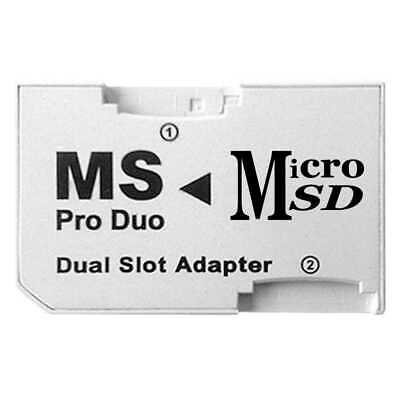 Adaptateur Micro Sd Hc Sdhc Vers Ms Pro Duo Pour Psp