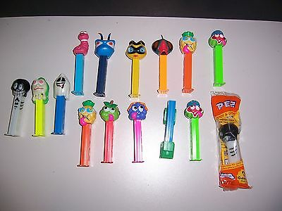 Lot of 47 Different Pez Dispensers Looney Tunes Peanuts Christmas Star Wars Etc.