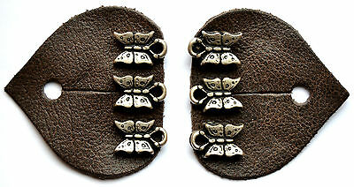 Traditional costume buttons Dirndl-lock