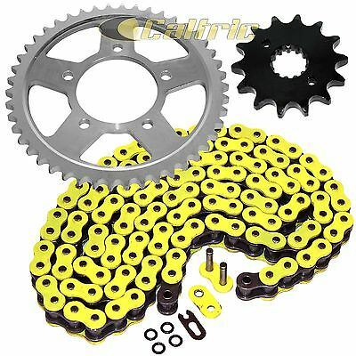 YELLOW O-Ring Drive Chain & Sprocket Kit Fits SUZUKI GSX-R1100 1988